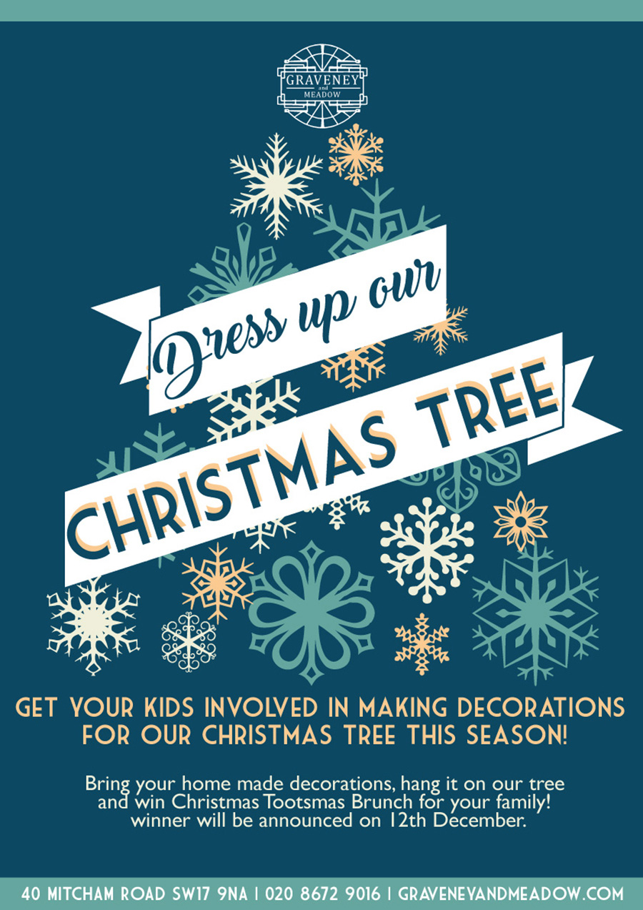 Decorate our tree